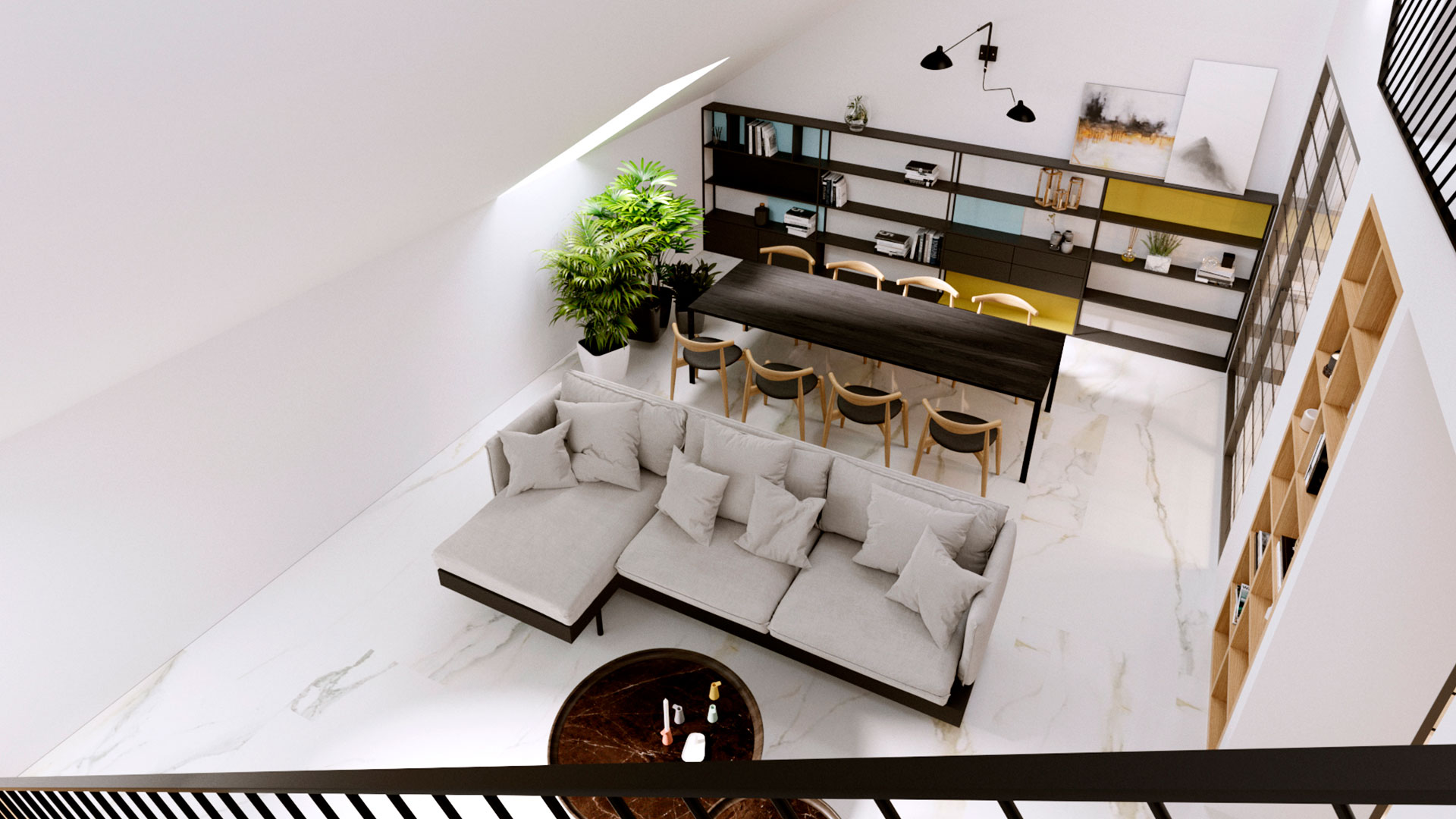Дизайн интерьера decorkuznetsov White apartments